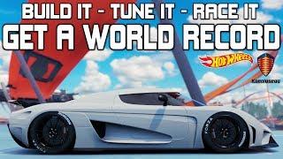 Forza Horizon 3  - BEST S2-CLASS CAR - WORLD RECORD - Koenigsegg Regera HOT WHEELS