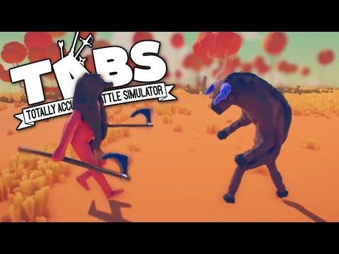 TABS - New Game Prototype and Axemen Animations! - Totally Accurate Battle Simulator