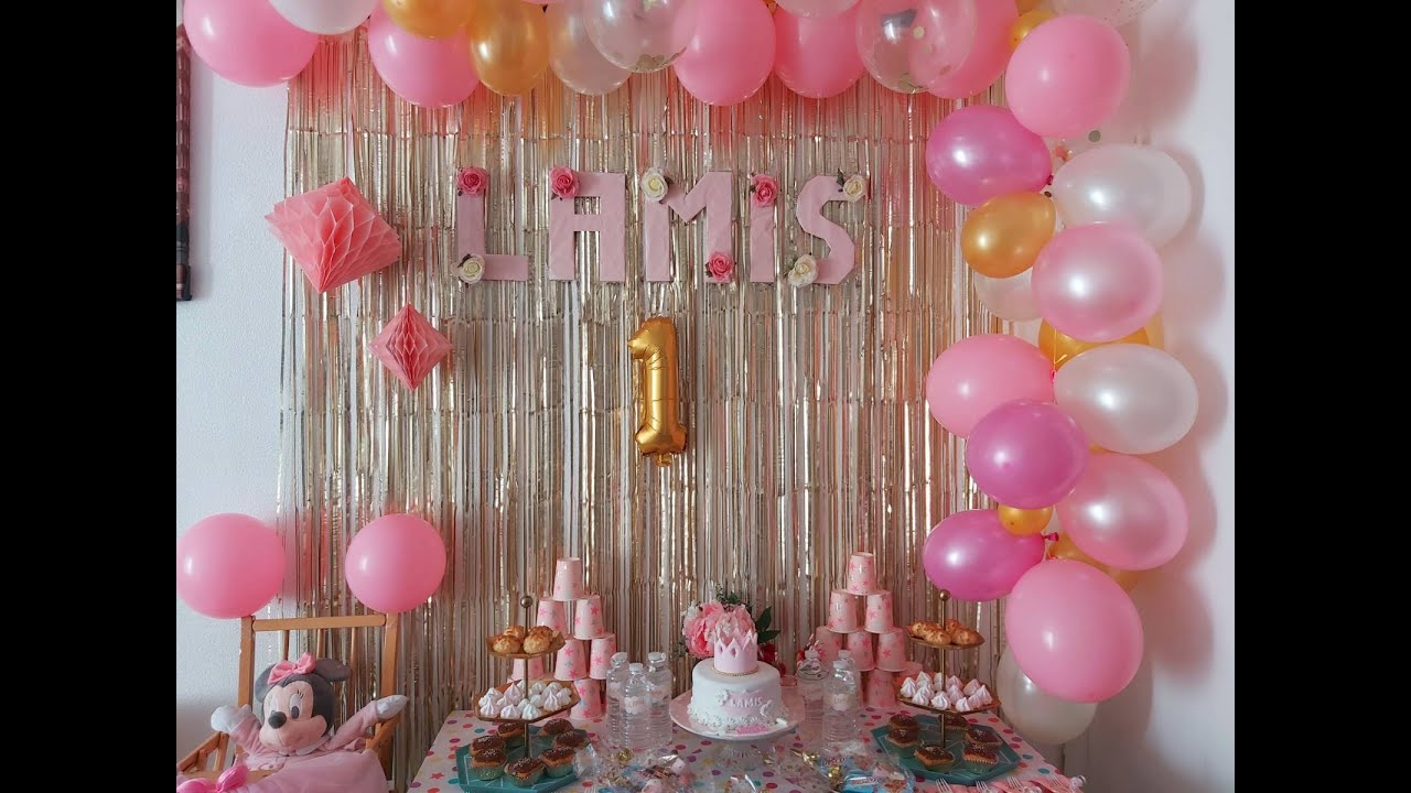 تحضيرات3 ديكور حفلة عيد ميلاد ابنتي 🎉مع أفكار رائعة لتنسيق الديكور و بوفي الbirthday 🎂،واش لبست 💃