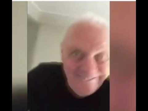 Anthony Hopkins does a scary dance to...