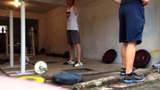 StrongLifts 5x5 Clean And Press 40 Kg 88 Lbs With Proper Form