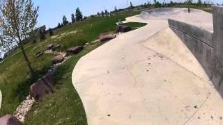 Green Valley Ranch Skate Park BMX Tricks Denver GoPro