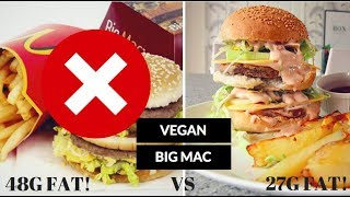 VEGAN BIG MAC // EAT THIS NOT THAT: Healthy food swaps for weight loss