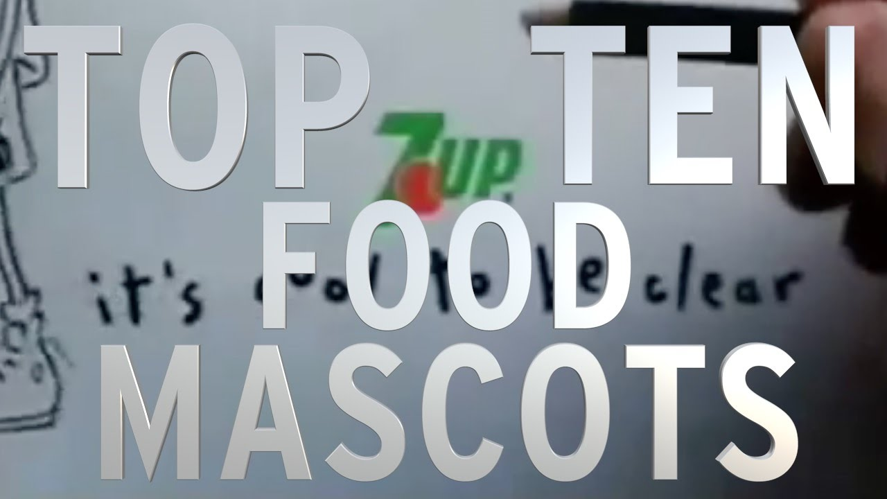 Top 10 Food Mascots (Quickie)