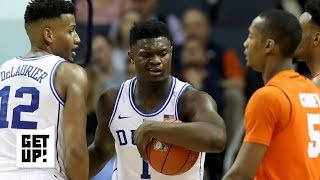 Jalen Rose's film study: Zion Williamson bullies Syracuse in the paint | Get Up!