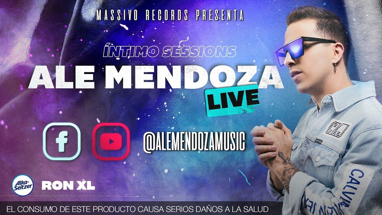 Íntimo Sessions: ALE MENDOZA - LIVE