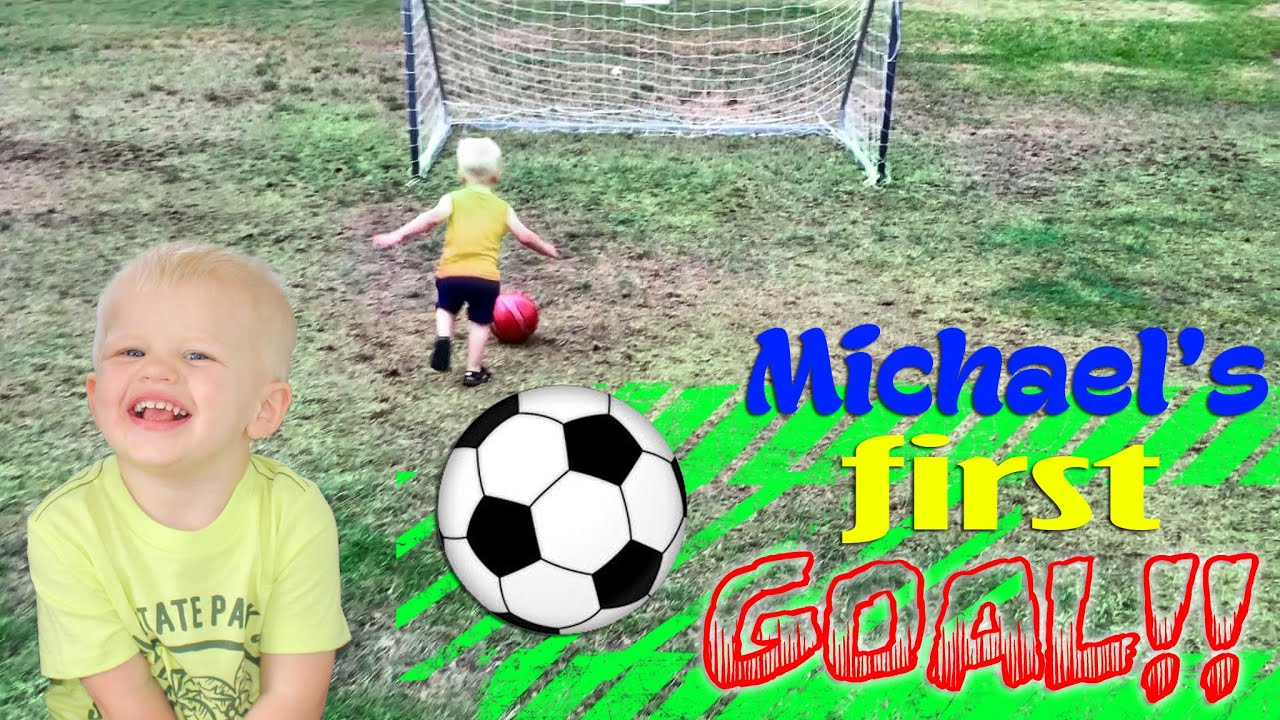 Michael scores his first goal doovi
