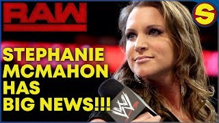 🔴  WWE RAW LIVE HANGOUT SHOW! STEPHANIE MCMAHON HAS BIG NEWS🔴
