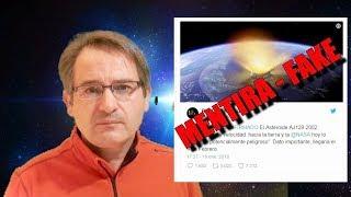 Mi ENFADO! por las MENTIRAS sobre el asteroide AJ129 2002