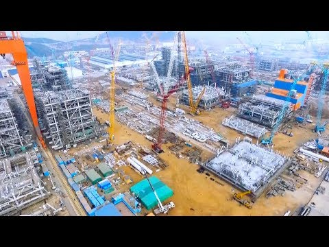 Construction of Arctic LNG project module completed in China