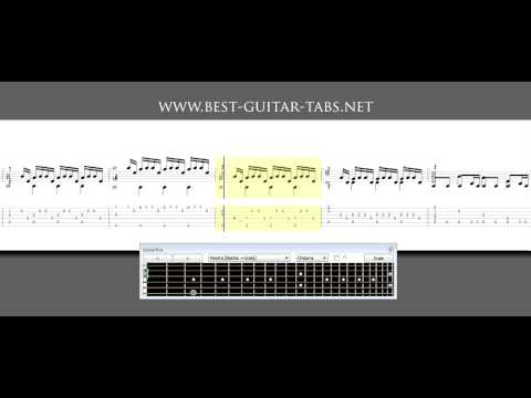 Inception - Time - Guitar Solo (sheet music and tabs)