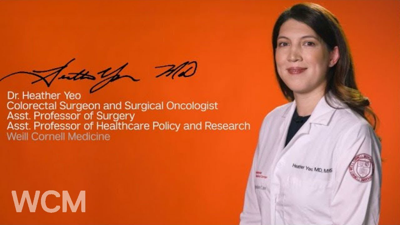 We Are Weill Cornell Medicine | Dr  Heather Yeo