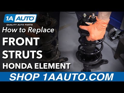How to Replace Front Strut 03-11 Honda Element