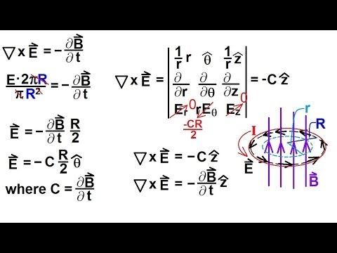 Physics - E&M: Maxwell's Equations (29 of 30) Faraday's Law in ...