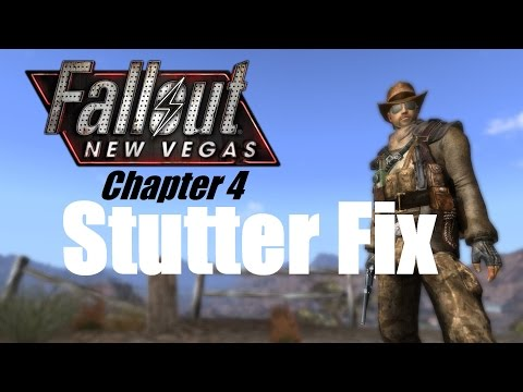 FALLOUT NEW VEGAS: How I fixed my stutter problem