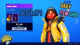ASMR | Fortnite NEW Facet and Bone Wasp Skins! Item Shop Update 🎮🎧Relaxing Whispering😴💤