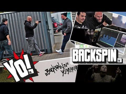 Niko dreht ein Musikvideo mit Mikis Fontagnier und Credibil | BACKSPIN YO #04