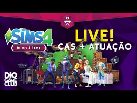 LIVE DE CAS + ATUAÇÃO ~ The Sims 4 RUMO À FAMA | DioGameClub thumbnail