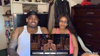 Nicki Minaj - Freestyle On The Tonight Show Jimmy Fallon (Wheel of Freestyle) (Reaction)