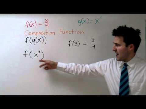 Composite Functions - f(g(x)) and g(f(x))