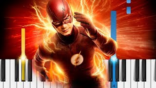 The Flash - Main Theme - Piano Tutorial