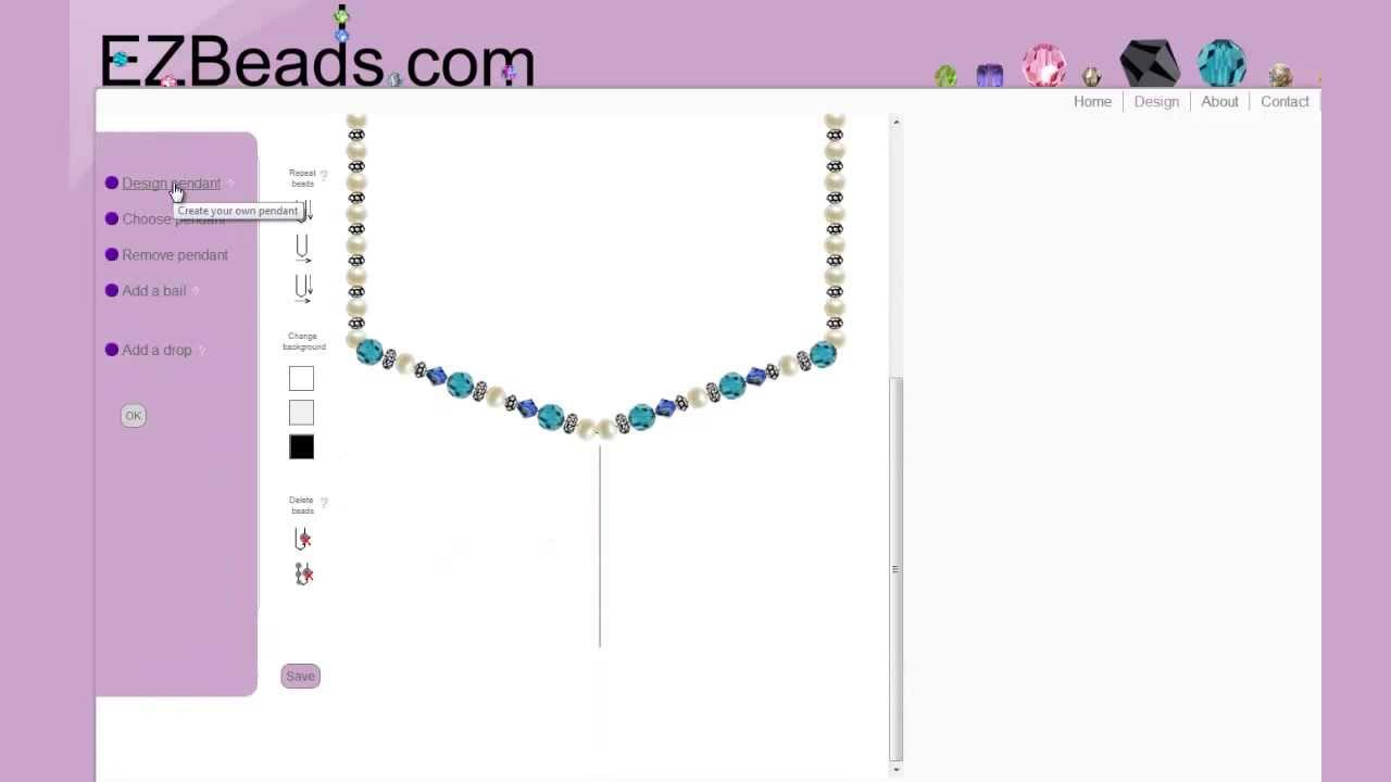 Design your own jewelry at EZBeadscom YouTube
