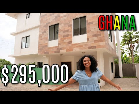 WHAT $295,000+ GETS YOU IN GHANA | 2 PROPERTIES IN PRIME LOCATIONS IN ACCRA