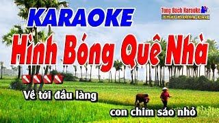 Hình Bóng Quê Nhà Karaoke 123 HD - Nhạc Sống Tùng Bách