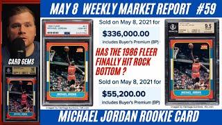 Michael Jordan Rookie Card Weekly Market Report MAY 8