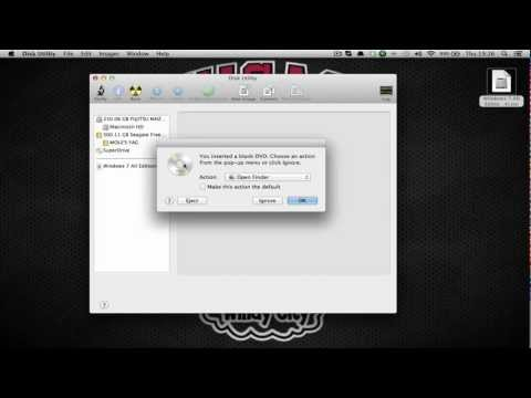 Mac: Burn an iso image to Dvd/Cd with Disk Utility