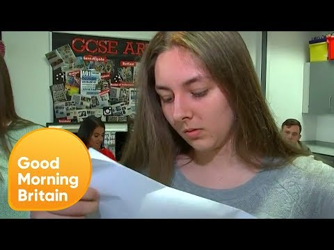 Students Open Their New Style GCSE Results Live on Air | Goo