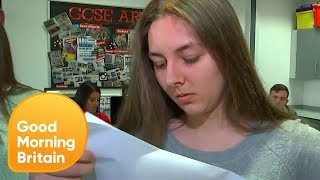 Students Open Their New Style GCSE Results Live on Air | Good Morning Britain