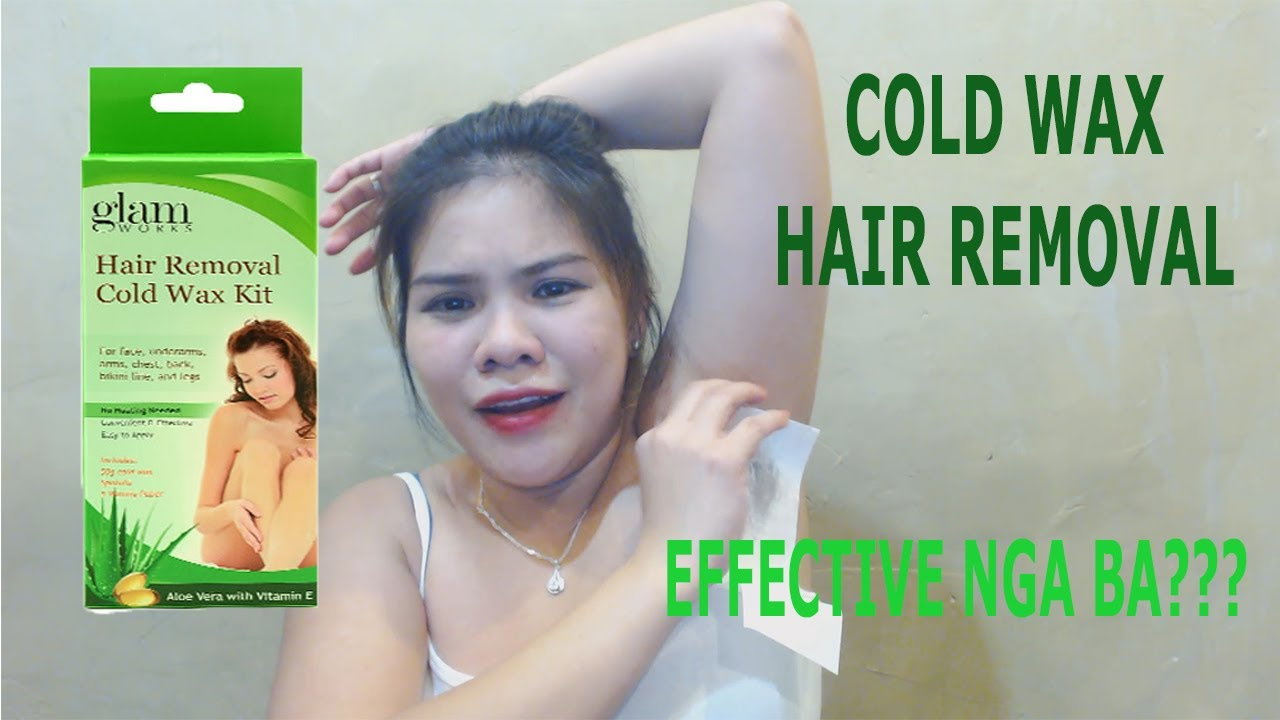 Cold Wax Under Arm Hair Removal Glam Effective Nga Ba 1st