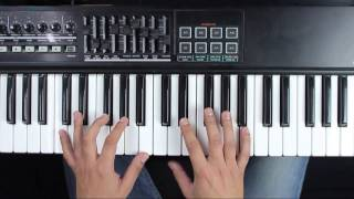 Piano Video Tutorial - Corre - Jesse y Joy