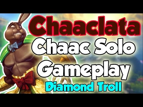 Smite: Chaaclata- Chaac Solo Gameplay