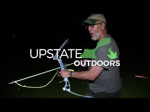 Getting hooked on bowfishing for carp on an Upstate NY lake (video)