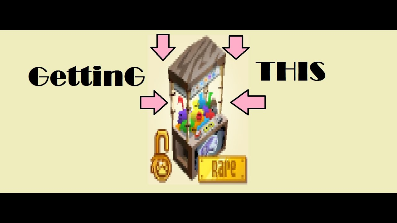 how to get a claw machine on animal jam
