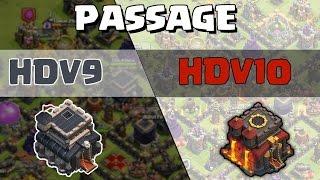 Passage HDV 10   Faisons ça ensemble !   Clash of Clans Français