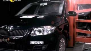 Euro NCAP | Skoda Fabia | 2007 | Crash test