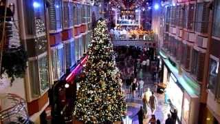 Freedom of The Seas - Royal Caribbean 2013 Xmas Cruise - Xmas Carols - HD movie - Canon SX210IS