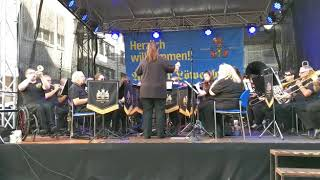 Post Horn Galop - Christchurch & District Band in Aalen