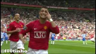 Manchester United 4-0 Wigan Athletic | HD | Season 2007-08 | English Commentary