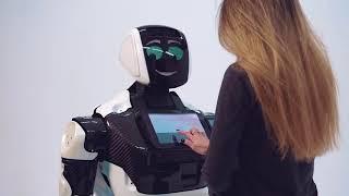 Мировая премьера нового российского робота Промобот 4-го поколения