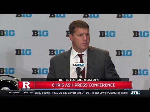 Rutgers' Chris Ash - 2017 Big Ten Football Media Day