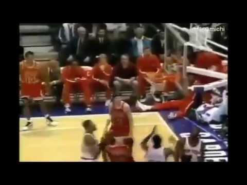 Michael Jordan - Post Scoring Skills