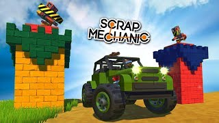 БИТВА БОЕВЫХ БАШЕН - TOWER DEFENSE в Scrap Mechanic !!! СКАЧАТЬ СКРАП МЕХАНИК !!!