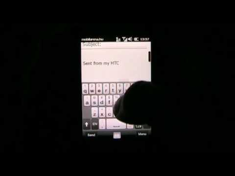 HTC HD mini - short video by Mobilarena