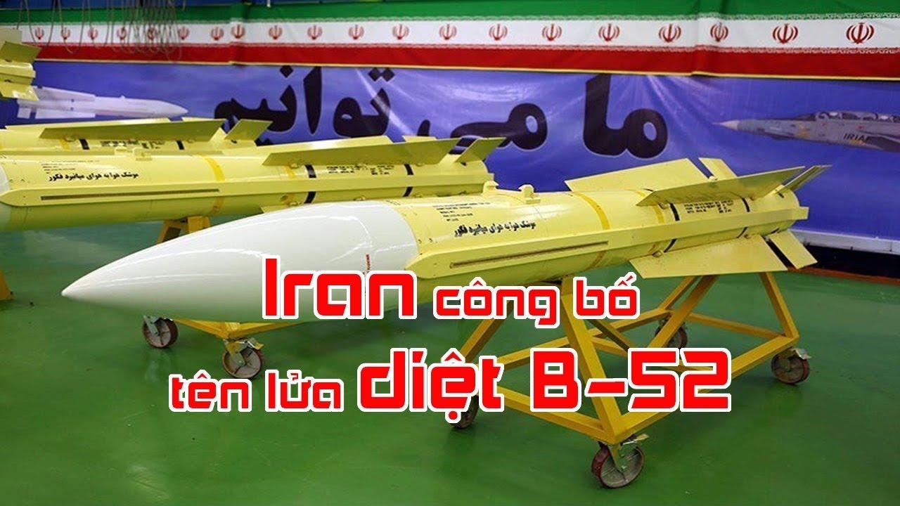 Iran công bố tên lửa diệt B 52
