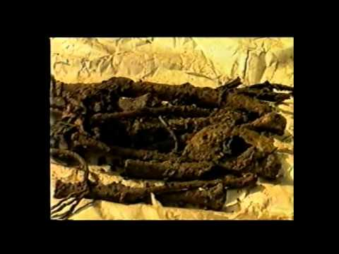 Ethiopia. 60 offficials and Emperor's remains excavated February 1992