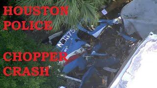 Houston Police Chopper Crash 2 May 2020